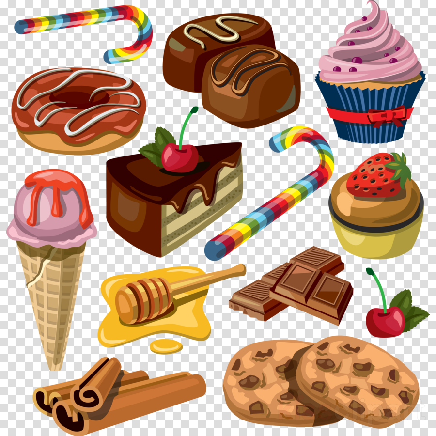 Dessert clipart confectionery.