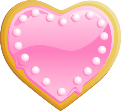 Hearts clipart cookie.