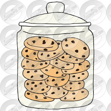 Dessert clipart cookie tray.