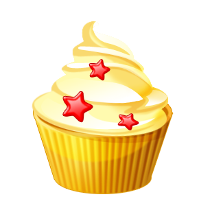 Dessert clipart covered food.