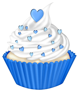 clipart cake blue
