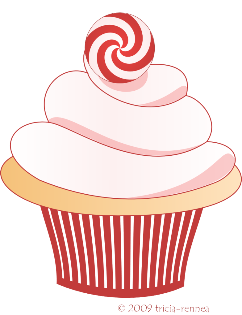 Holidays clipart cupcake.