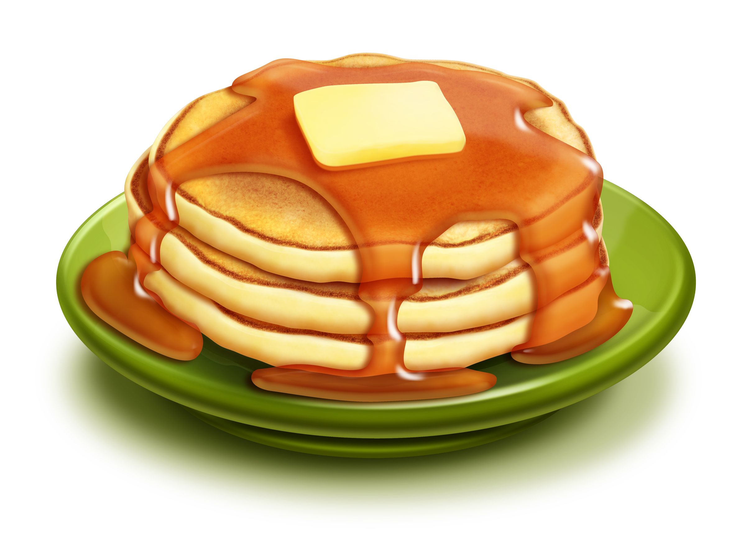 Pancakes clipart stack.