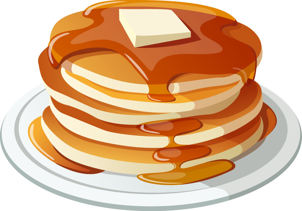 pancakes clipart blueberry