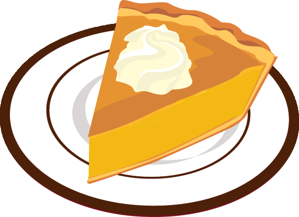 dessert clipart pumpkin pie