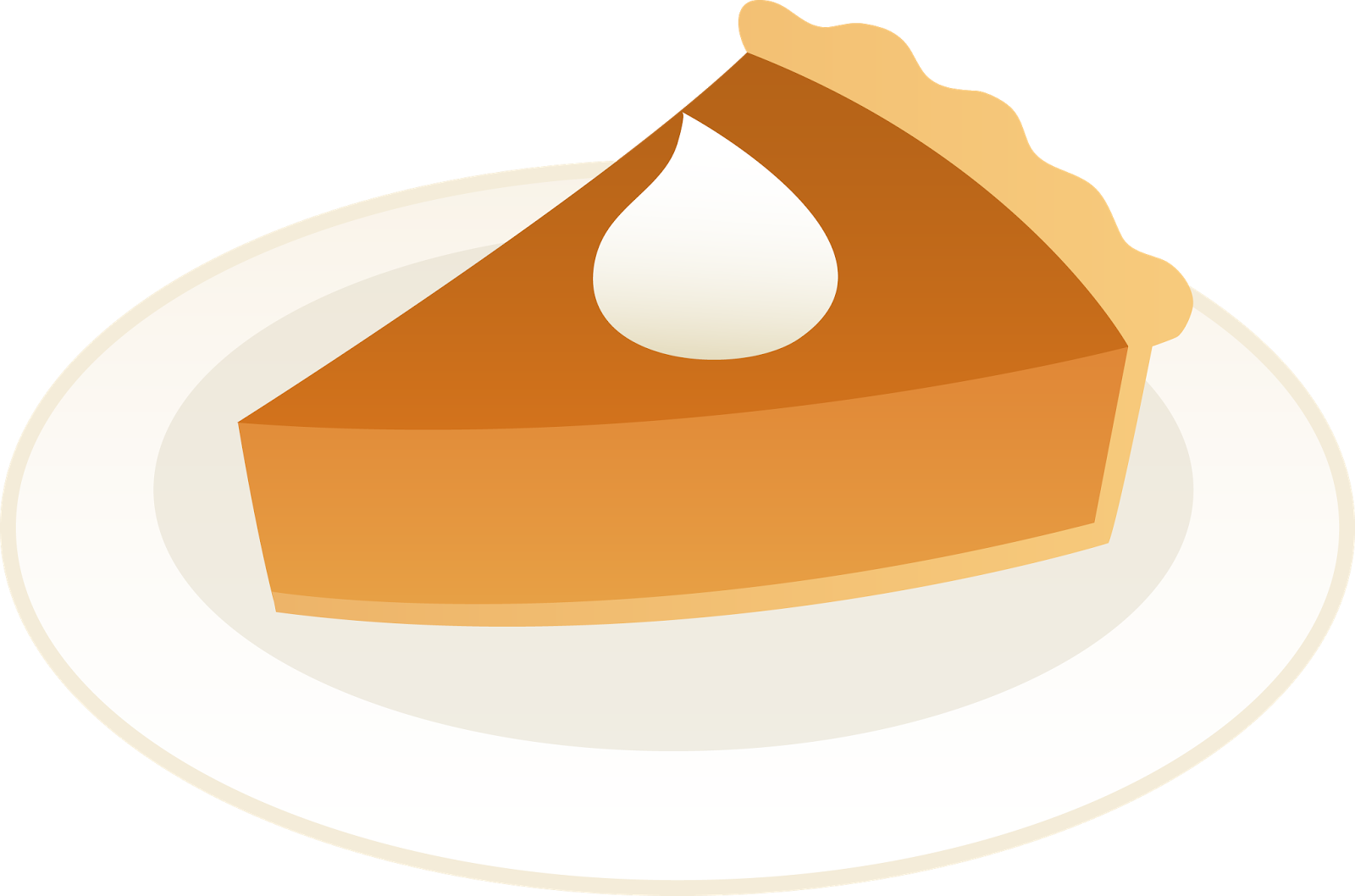 dessert clipart sweet potato pie