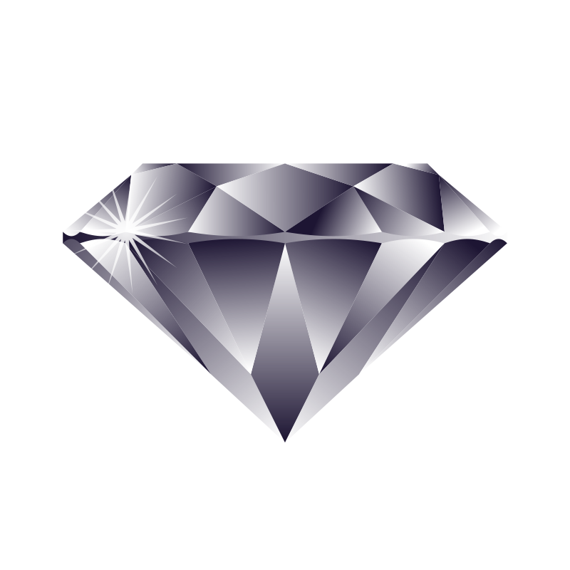 Diamonds clipart clear background.