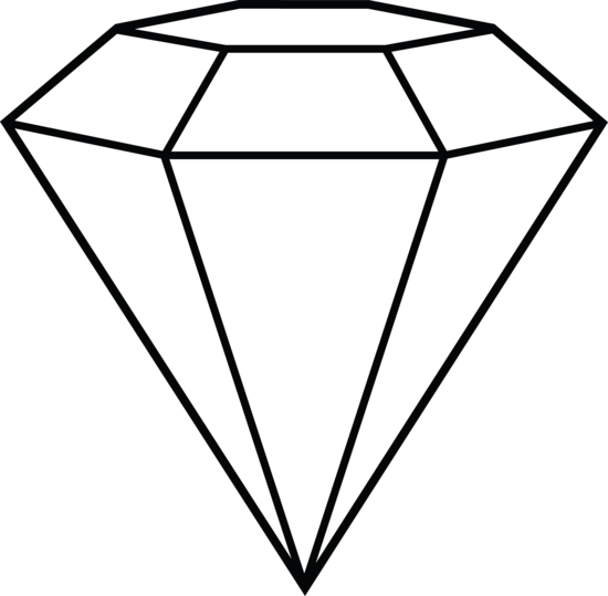 Diamonds clipart face.