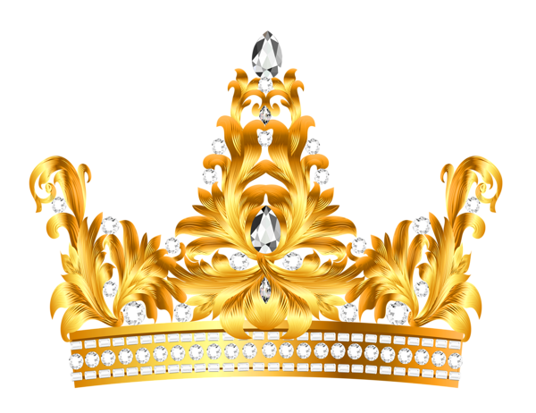 Diamonds clipart princess crown.