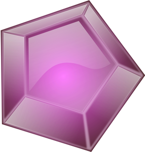 Diamonds clipart purple.