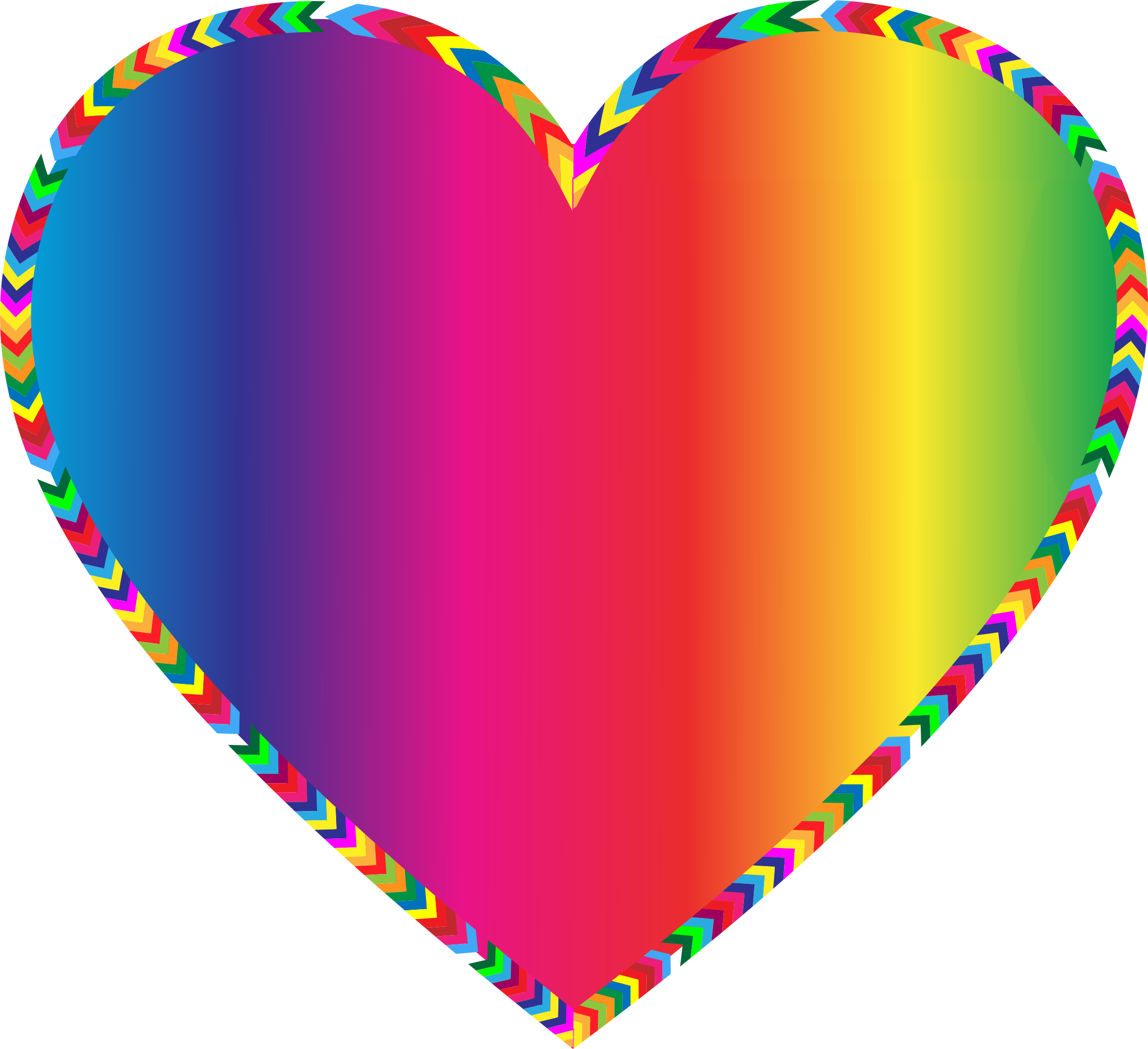 Diamonds clipart rainbow.