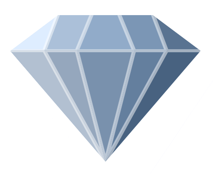 Diamonds clipart sign.