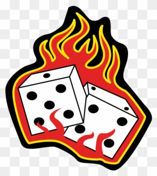 Dice clipart gamble.