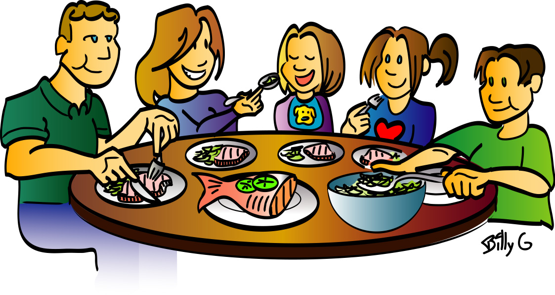 Dish clipart meal time.