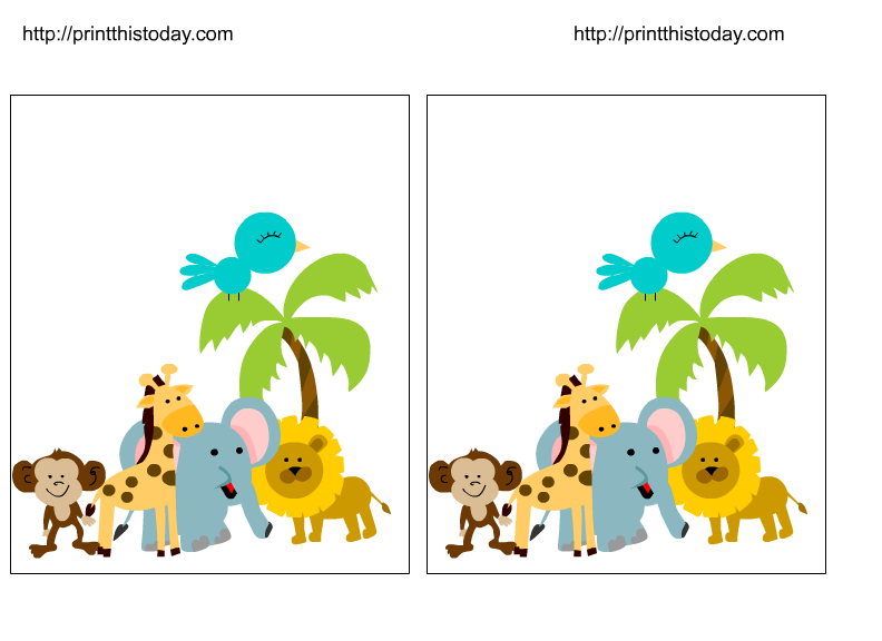 safari clipart baby shower