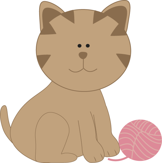 yarn clipart cat