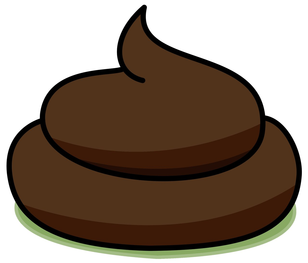 poop clipart swirly