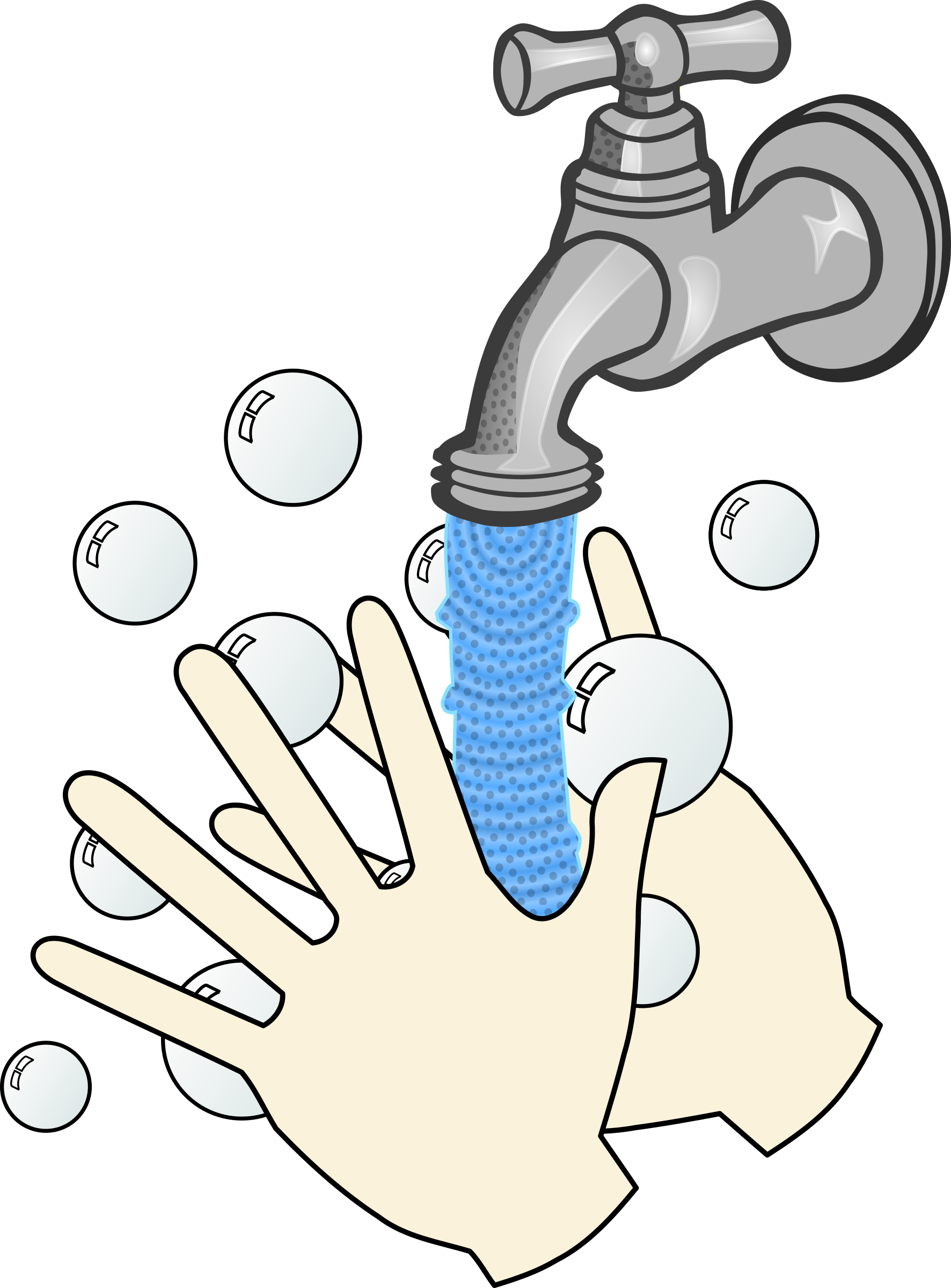 wash hands clipart background