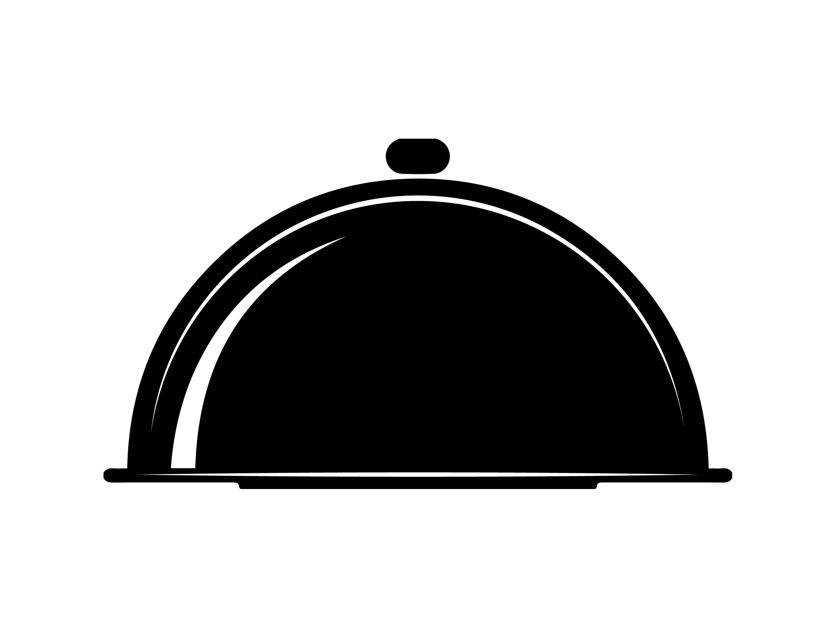 Dish clipart plate cover.