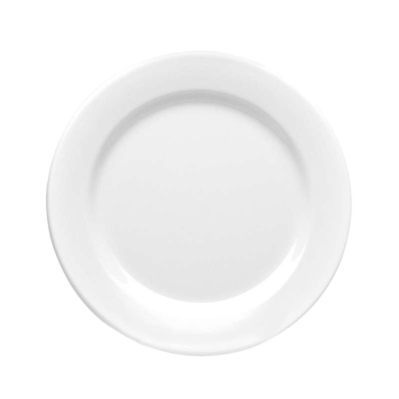 dish clipart round plate