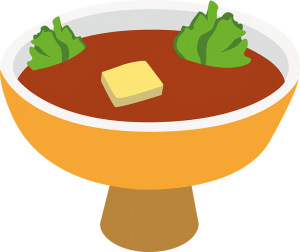 Dish clipart steamed vegetable.