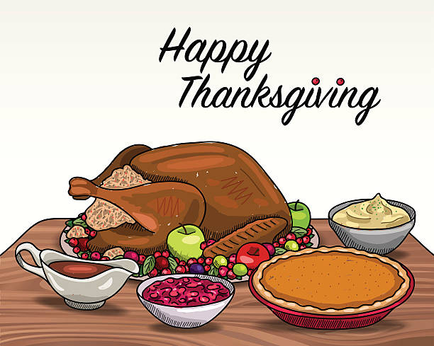 Dish clipart thanksgiving plate.