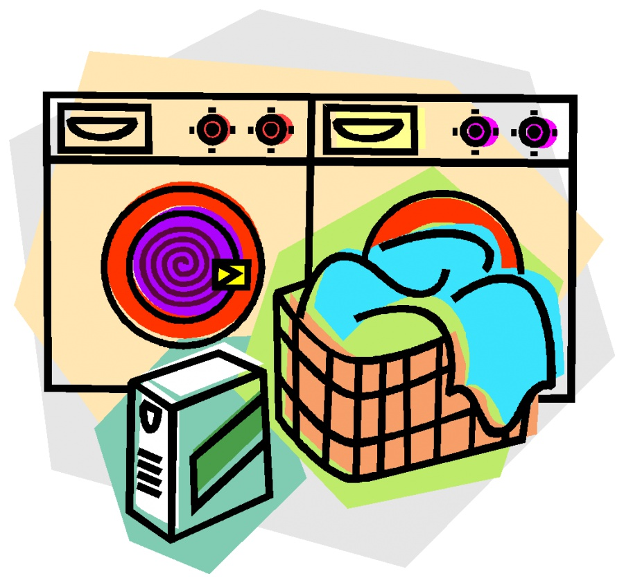 Dish clipart washer dryer.