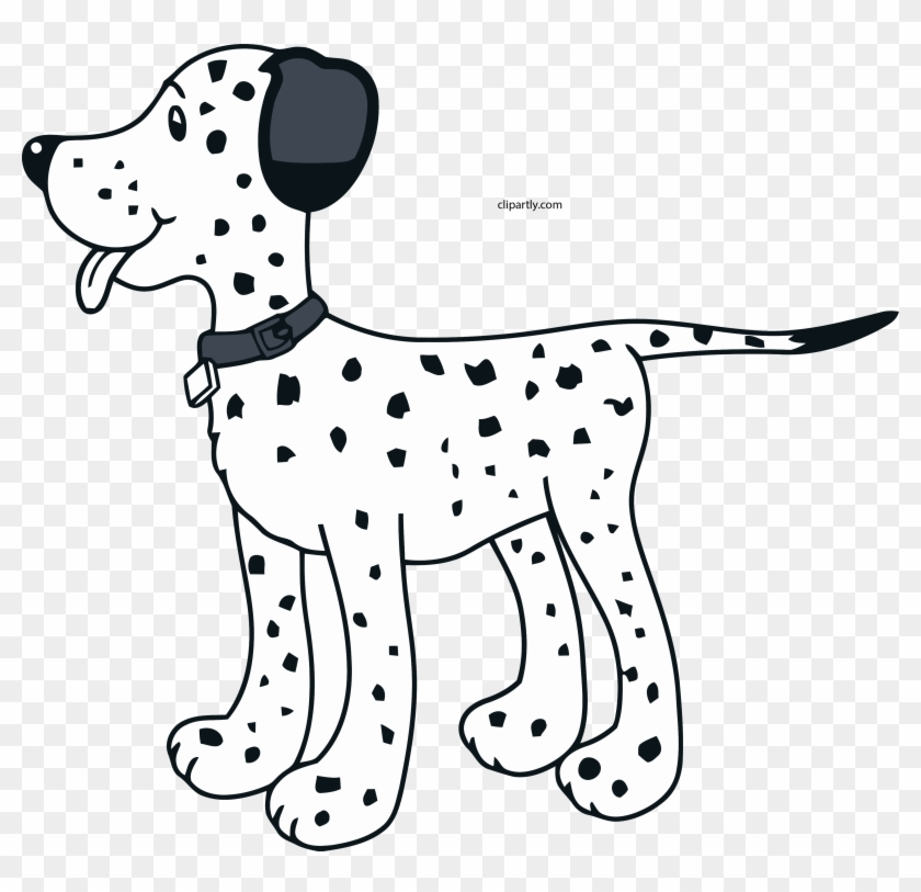 Dog filter clipart dalmatian.