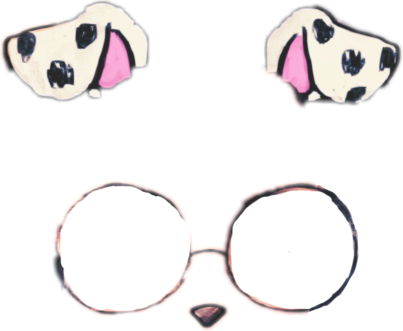 Dog filter clipart puppy.