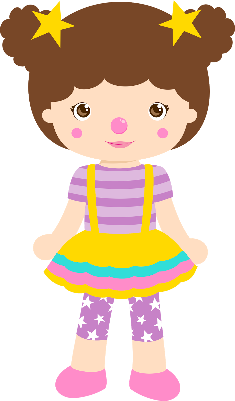 Doll clipart toy.
