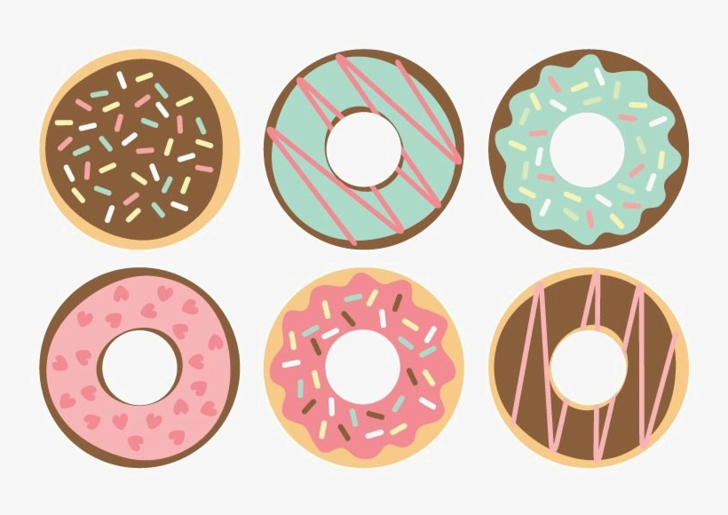 Donut clipart high resolution.