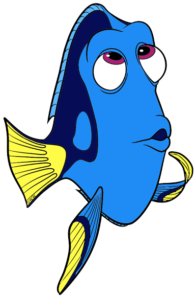 Dory clipart cartoon.