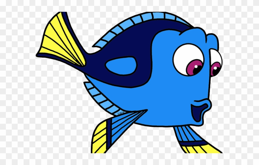 Dory clipart cartoon fish.