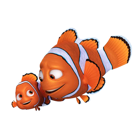 Dory clipart side.