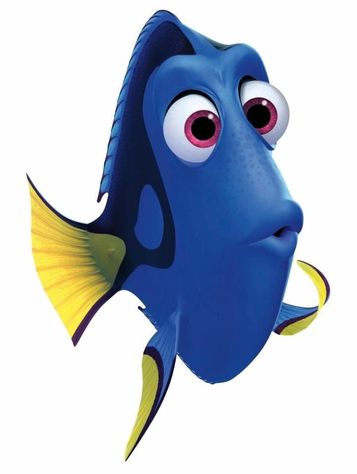 Dory clipart transparent background.