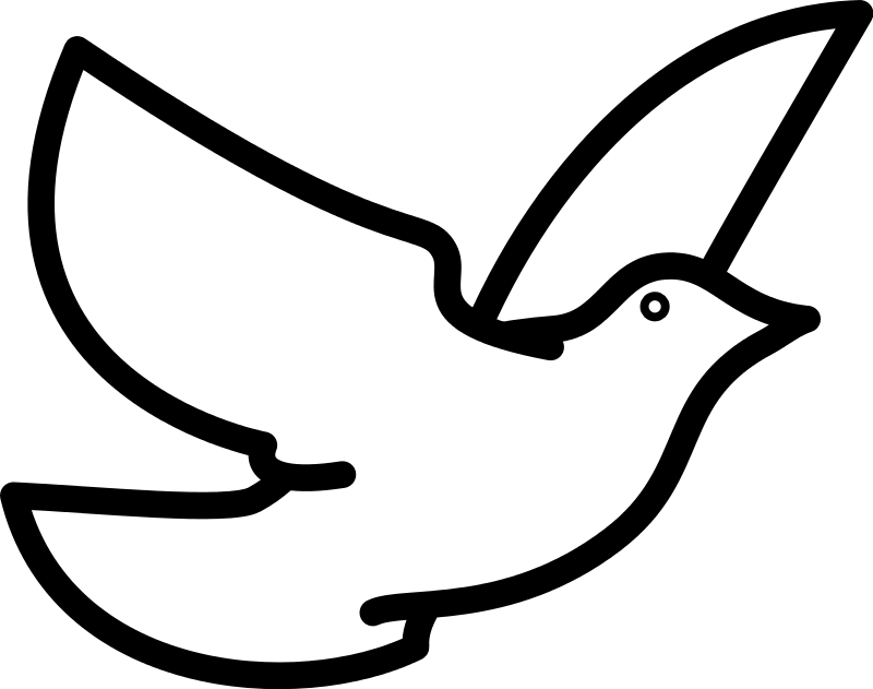 Dove clipart animated.