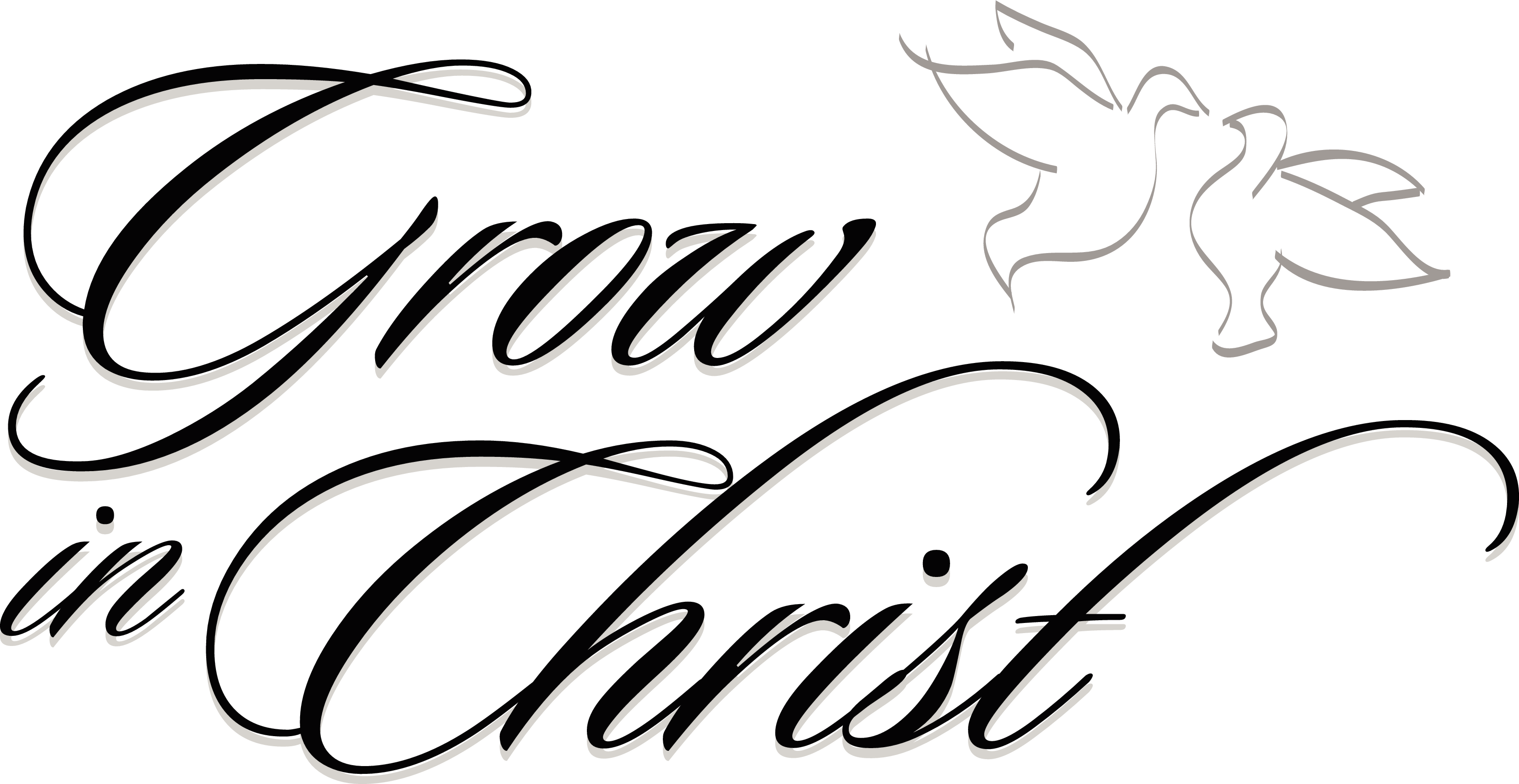 christian clipart black