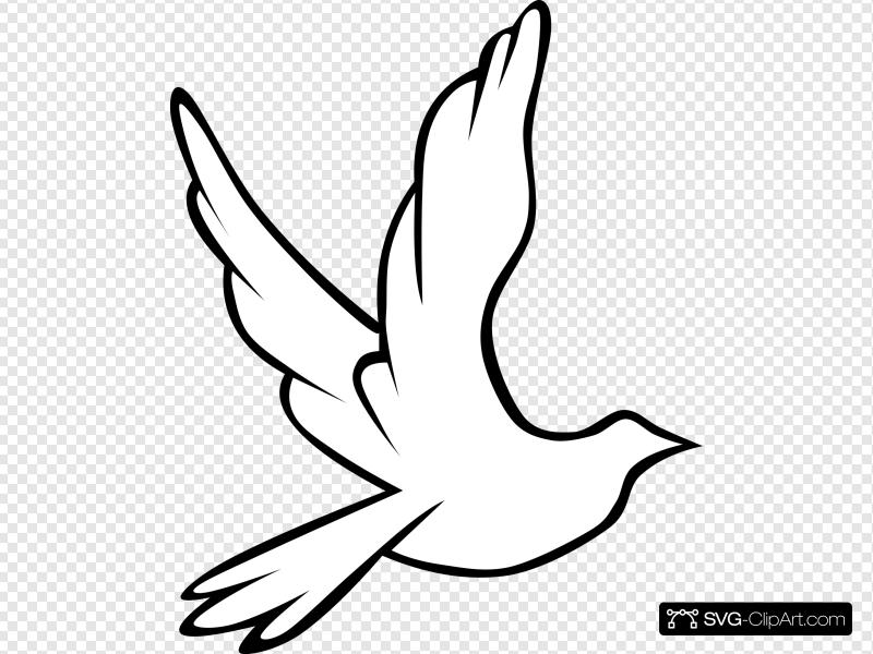 Dove clipart cartoon.