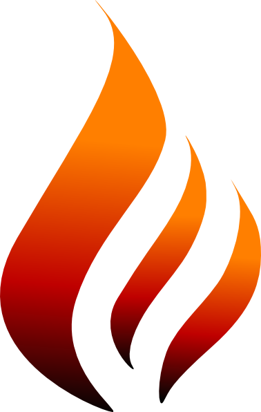flame clipart vector