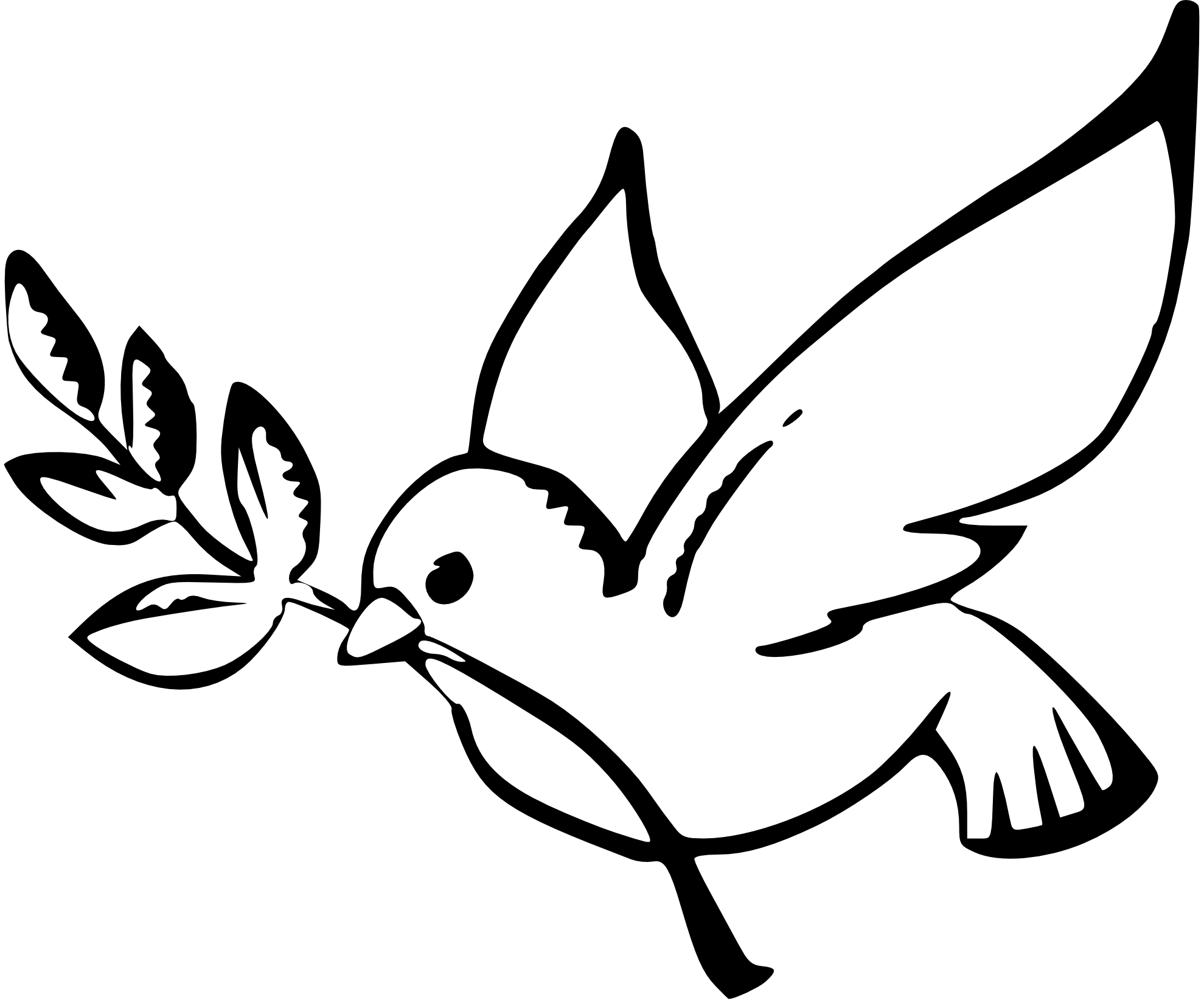 christian clipart peace