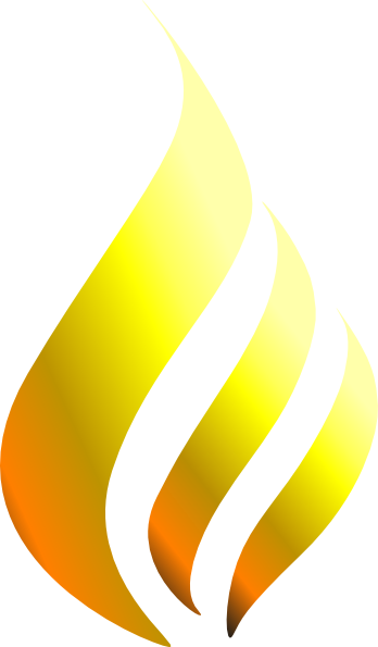 flame clipart simple