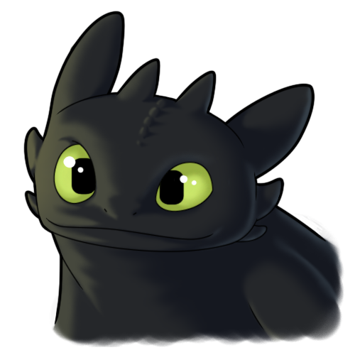 dragon clipart toothless
