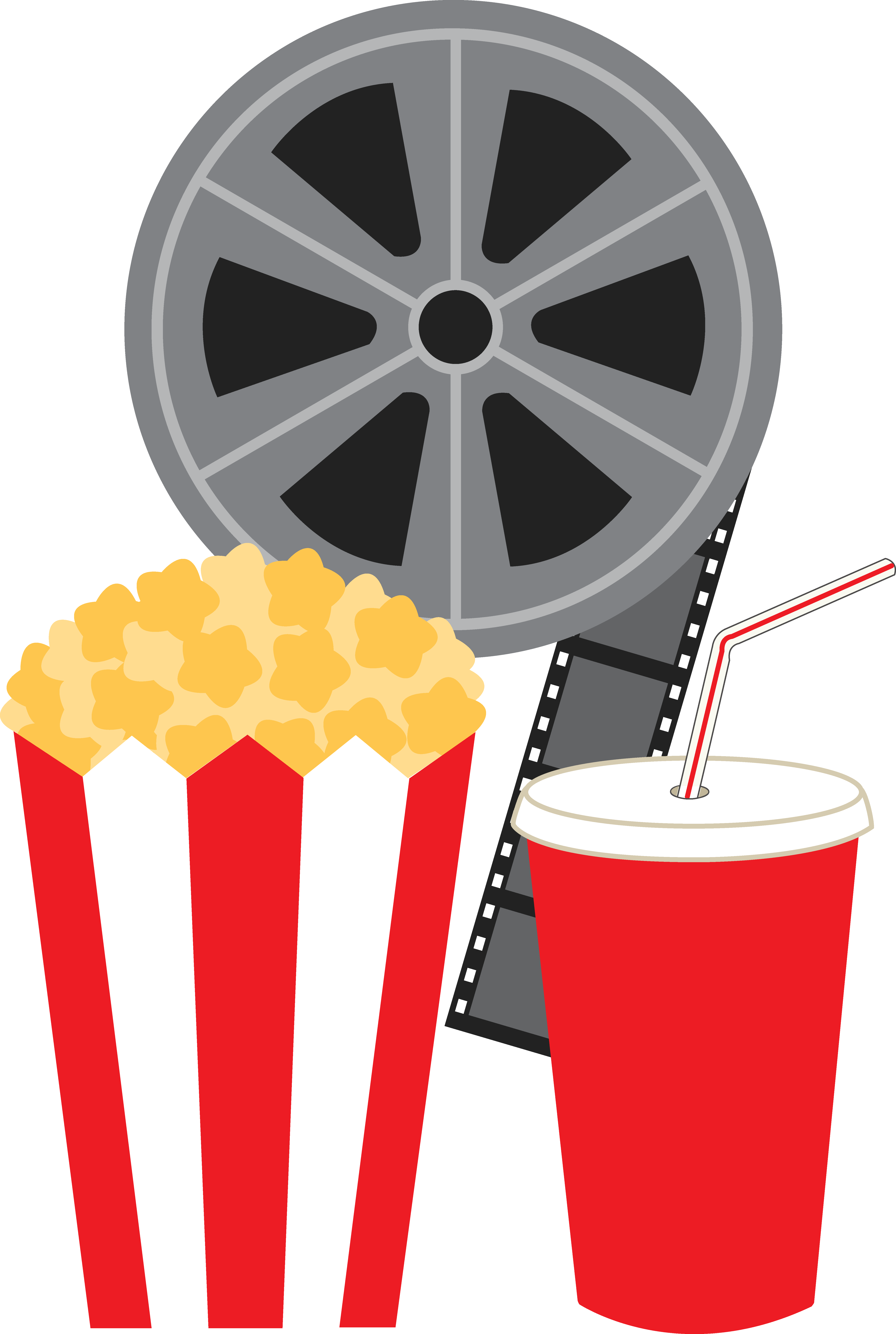 Movies clipart movie real.