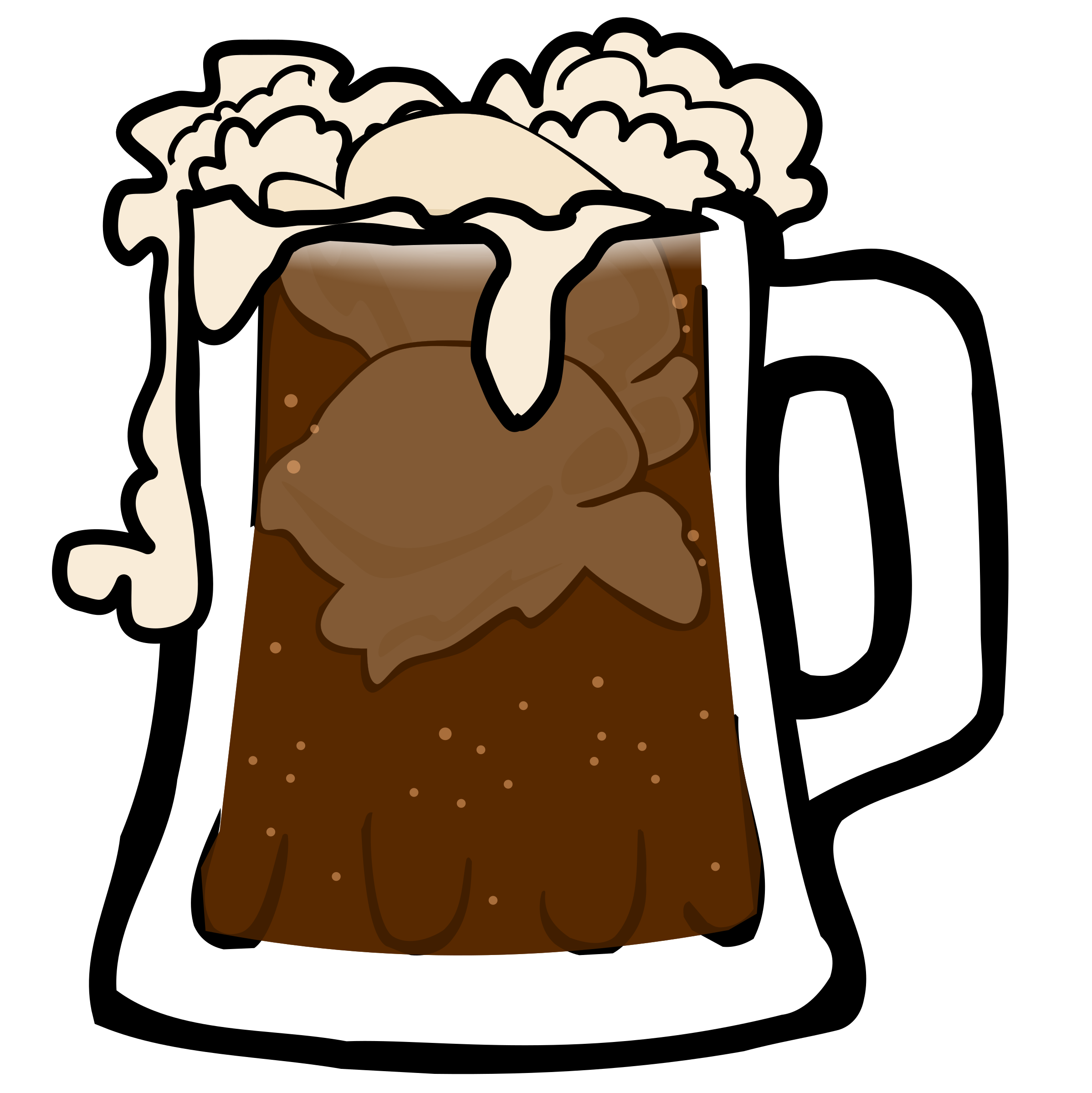 beer clipart cute