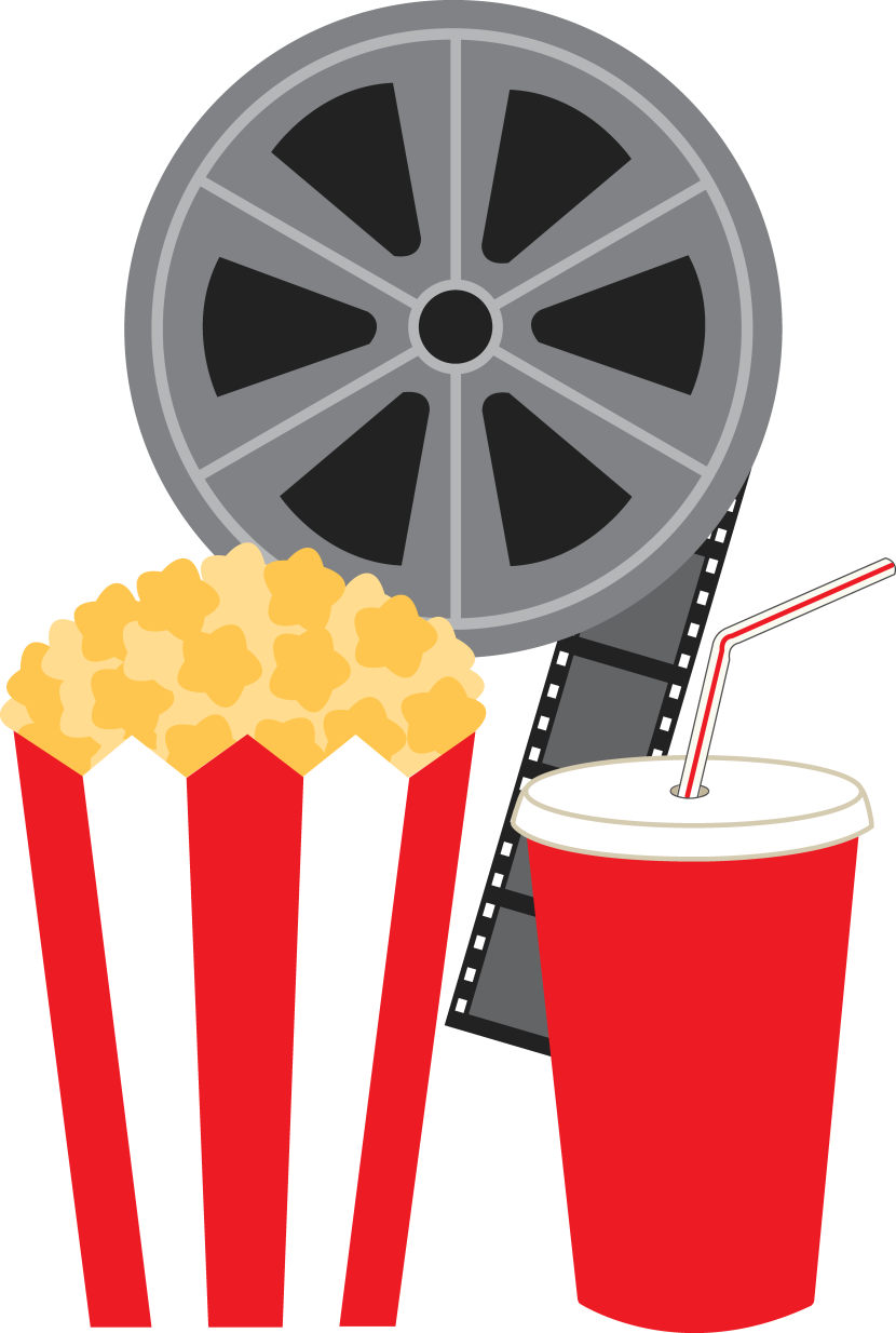 Movies clipart movie day.