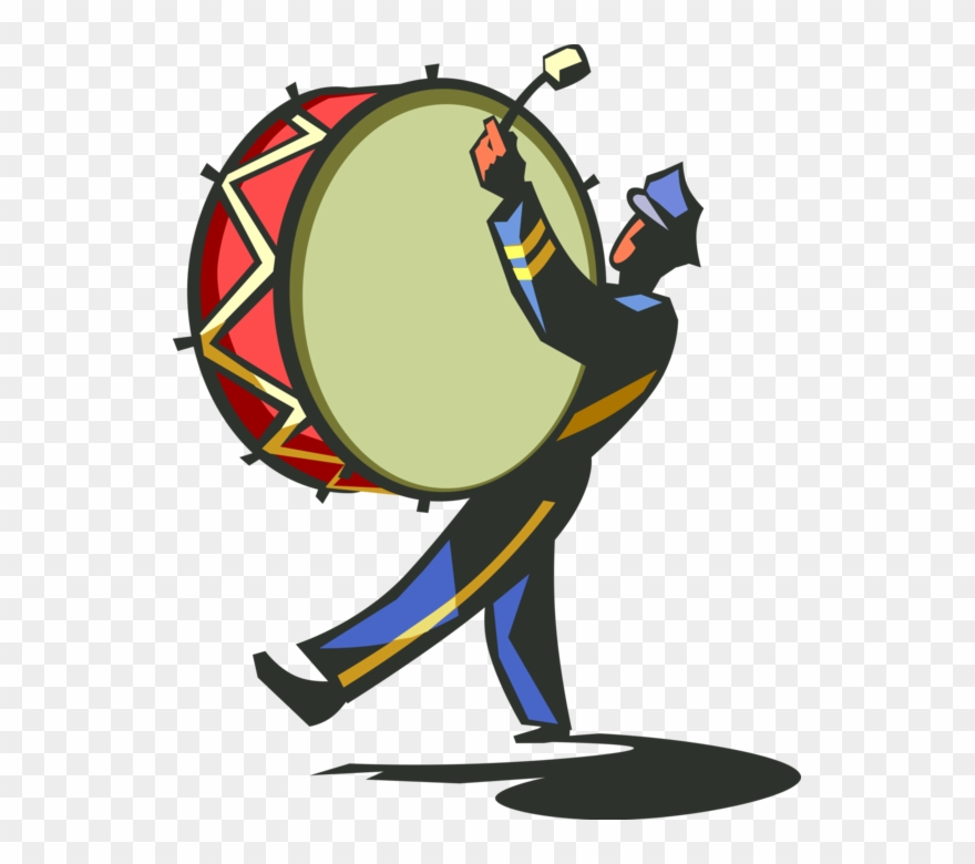 marching band clipart cartoon