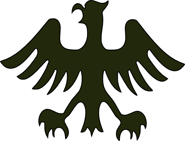 german clipart eagle german
