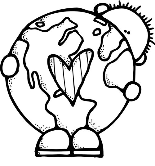 earth day clipart drawing