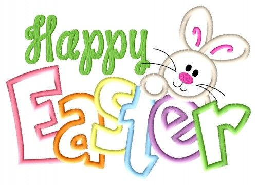 happy easter clipart text