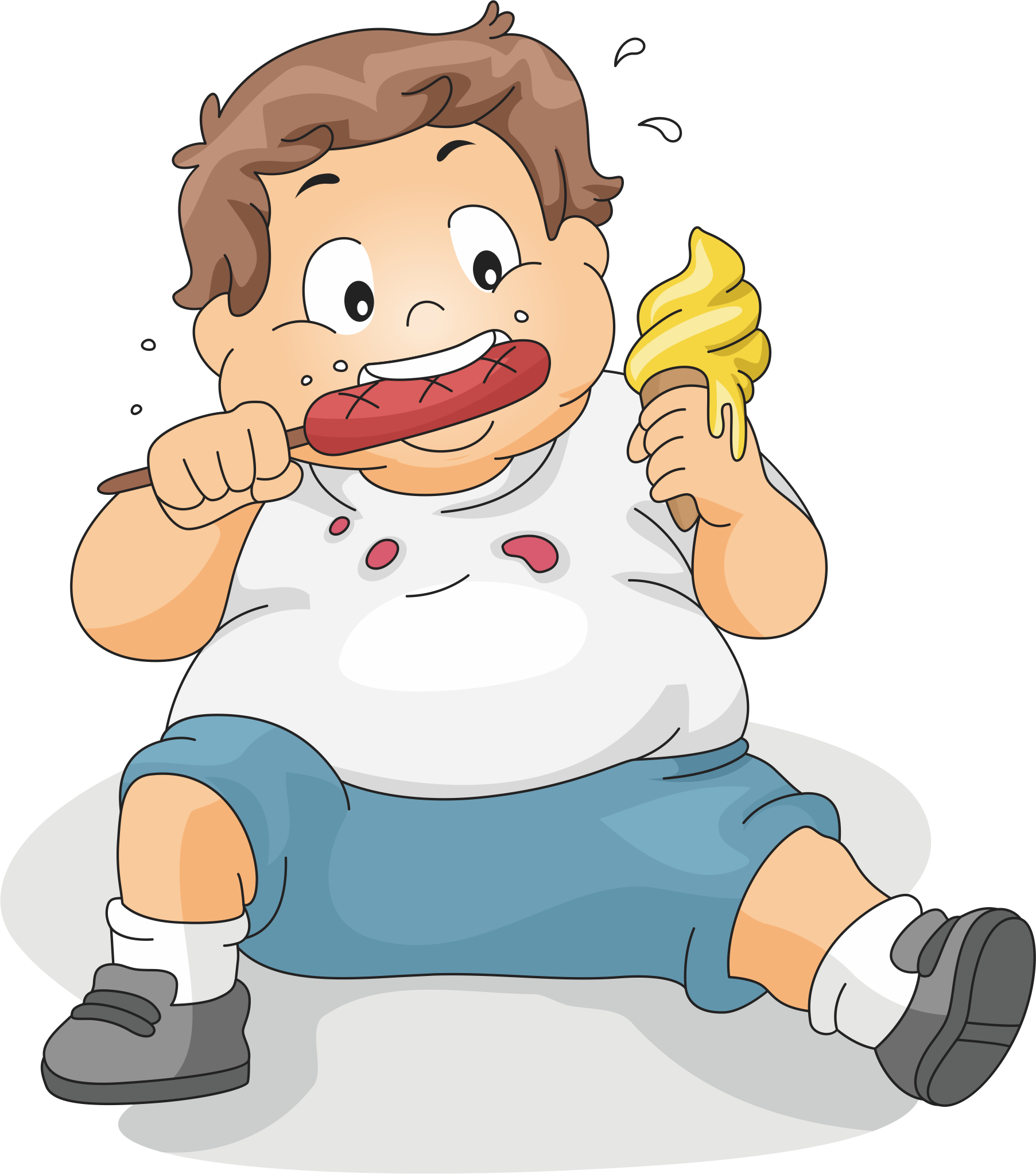 Eat clipart boy eating.